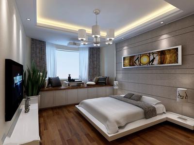 5平米榻榻米小卧室装修效果图,简美风格榻榻米卧室装修效果图