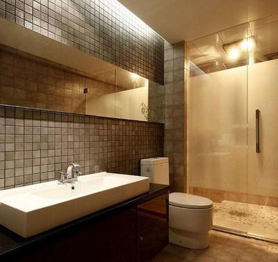 1.5乘2米的卫生间装修效果图,1.5平米长条卫生间装修效果图