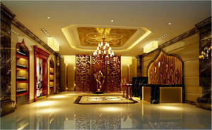 宾馆大厅大理石装修效果图,宾馆大厅大理石装修效果图大全