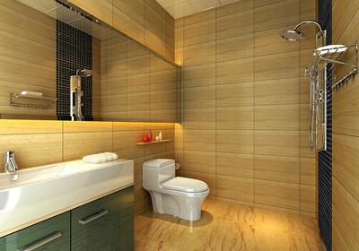 长方形3平方卫生间布局图,长方形小卫生间布局图