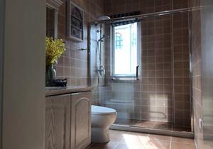 卫生间干湿移门装修效果图,小户型卫生间移门装修效果图