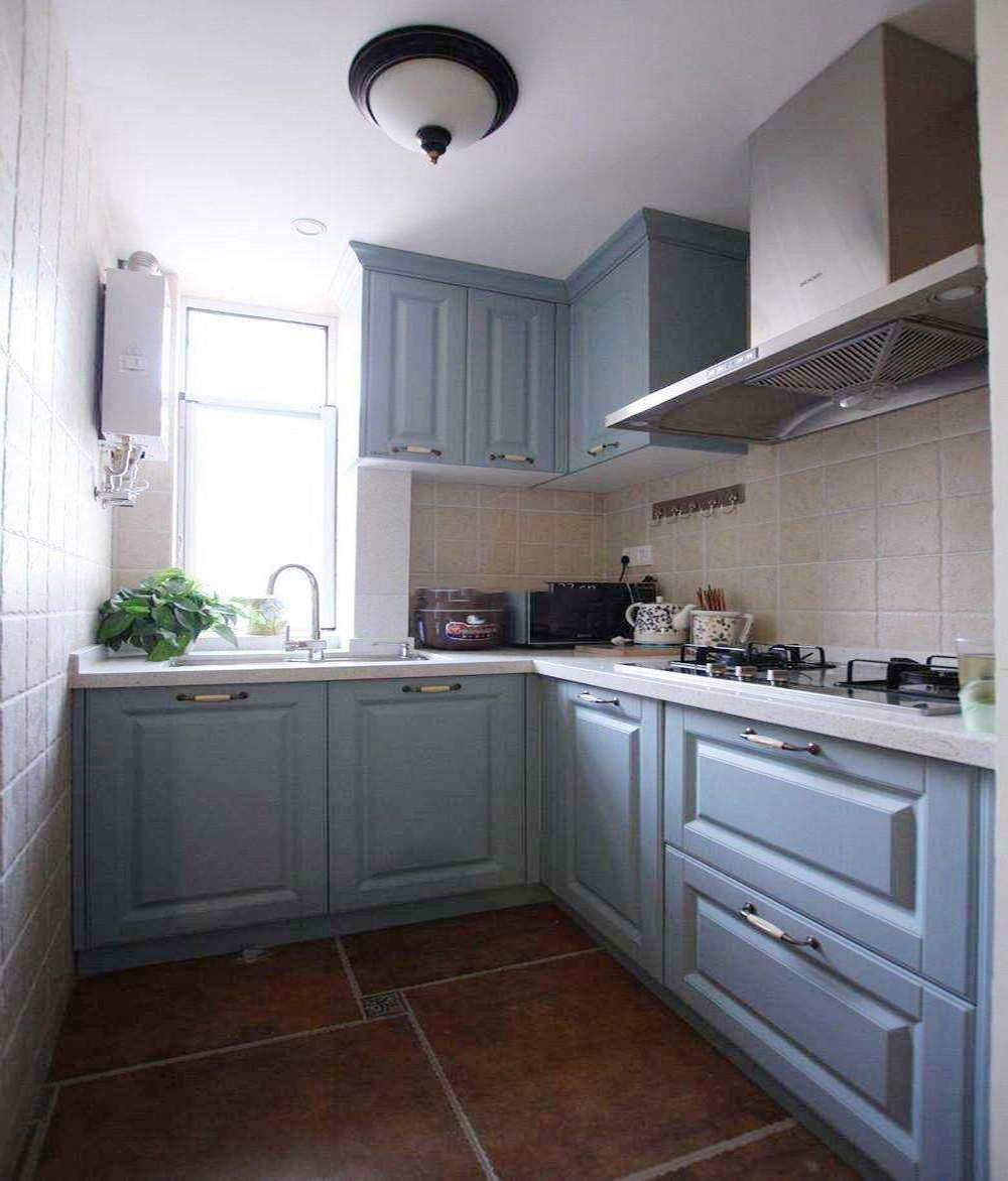 l型厨房4平米装修效果图,4平米小厨房装修效果图大全