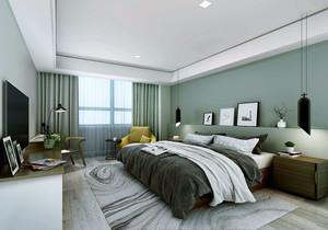 現代簡約風格臥室裝修案例,現代簡約歐式風格裝修案例