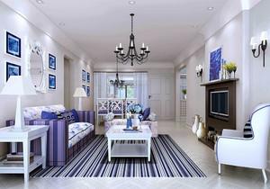 地中海装修风格厨房案例分析,地中海小户型客厅装修效果图欣赏