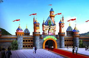 游乐园景观平面图,游乐园景观设计平面图