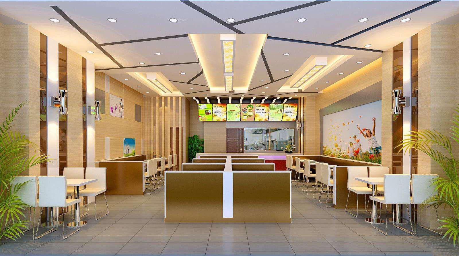 餐厅门面外墙装修效果图大全,快餐厅门面装修效果图