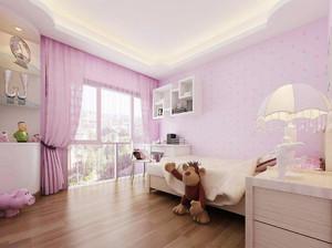 简约型儿童房装修效果图,简约欧式儿童房装修效果图