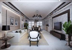 別墅現代簡約風格裝修案例,后現代簡約裝修風格案例