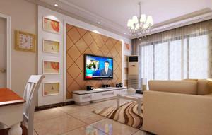 客廳電視墻簡約裝修圖片大全,現代簡約客廳電視墻裝修圖片大全