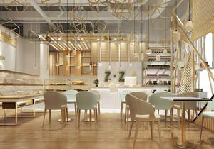 商鋪隔層飲茶區裝修效果圖,6米商鋪隔層裝修效果圖