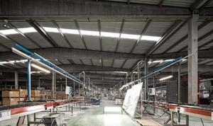 工业风格厂房装修效果图,工业厂房无吊顶效果图