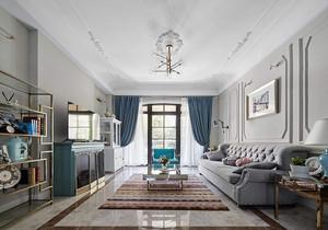128平米三室两厅两卫装修效果图,三室两厅全景效果图