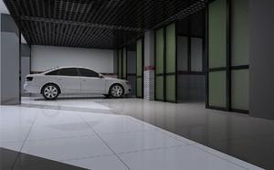 长方形汽车美容店装修效果图大全,汽车美容店装修600平效果图