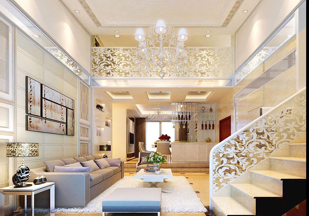 公寓45平米复式楼装修效果图大全,45平米公寓4米5高装修效果图