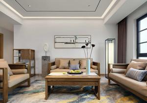 美式硅藻泥沙发背景墙装修效果图,硅藻泥沙发墙背景墙效果图