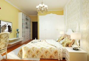 欧式田园风格装修卧室效果图,欧式田园风格卧室装修效果图