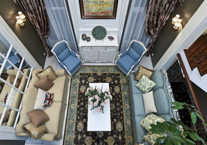 地中海风格装修案例高清图,地中海风格别墅装修案例