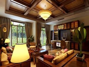 東南亞風格農村別墅裝修圖片,別墅東南亞裝修風格效果圖