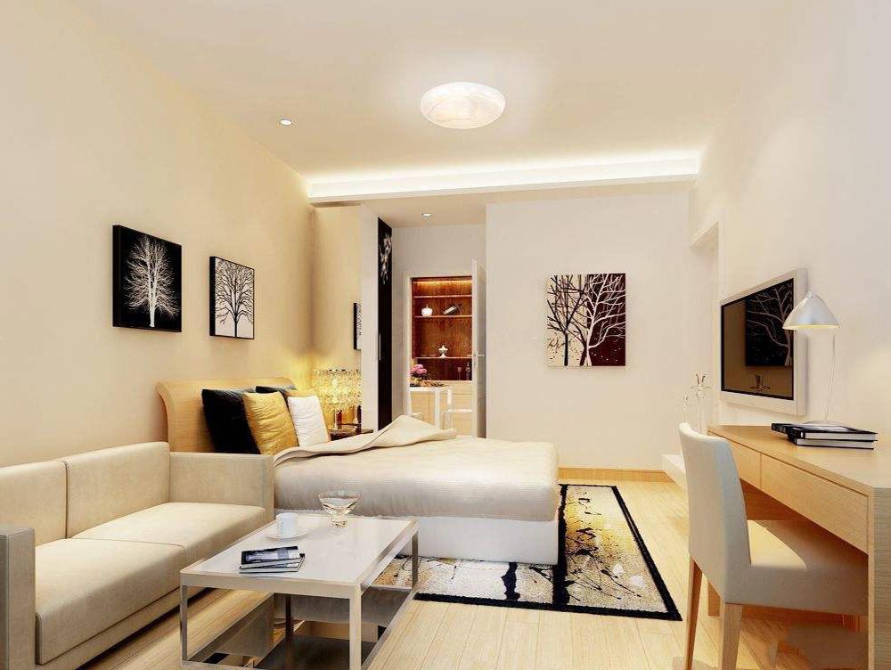 30平小户型公寓装修效果图大全,小户型公寓复式装修效果图大全2019图片