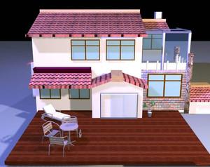 2层160平米别墅设计图,160平米二层乡村小别墅设计图