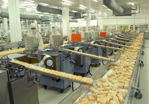 食品工厂的基本设计平面图,食品工厂设计全场平面图
