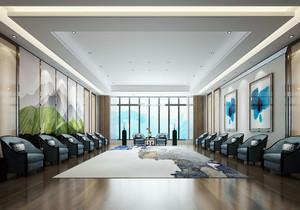 办公室会议室设计装修效果图,办公室和会议室效果图大全