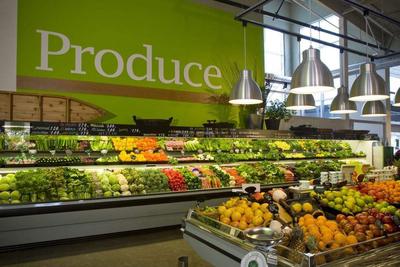 开蔬菜超市水果装修效果图,蔬菜超市怎么装修