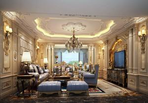 别墅客厅刷漆颜色效果图欣赏,客厅吊顶刷漆颜色效果图