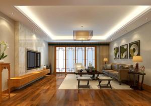 客厅简单吸顶灯效果图,中式客厅吸顶灯图