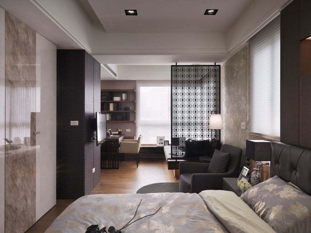 客厅一半改卧室装修效果图,小客厅改一半卧室效果图