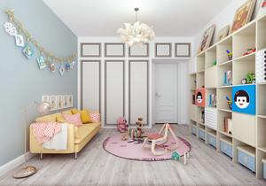 北欧简约儿童房装修效果图,简约小户型儿童房装修效果图