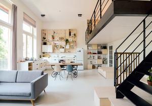 40平米复式公寓足彩导航效果图,40平米loft公寓足彩导航效果图