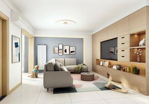 58平米单间公寓足彩导航效果图,小户型单间公寓足彩导航效果图
