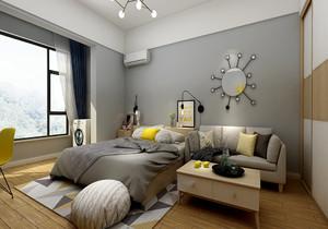45平米的公寓怎么装修,45平米一间房公寓装修效果图