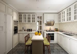 厨房l型白色橱柜设计图,l型橱柜内部设计图