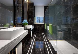 浴室大理石地板装修效果图大全,灰色大理石地板系列装修效果图