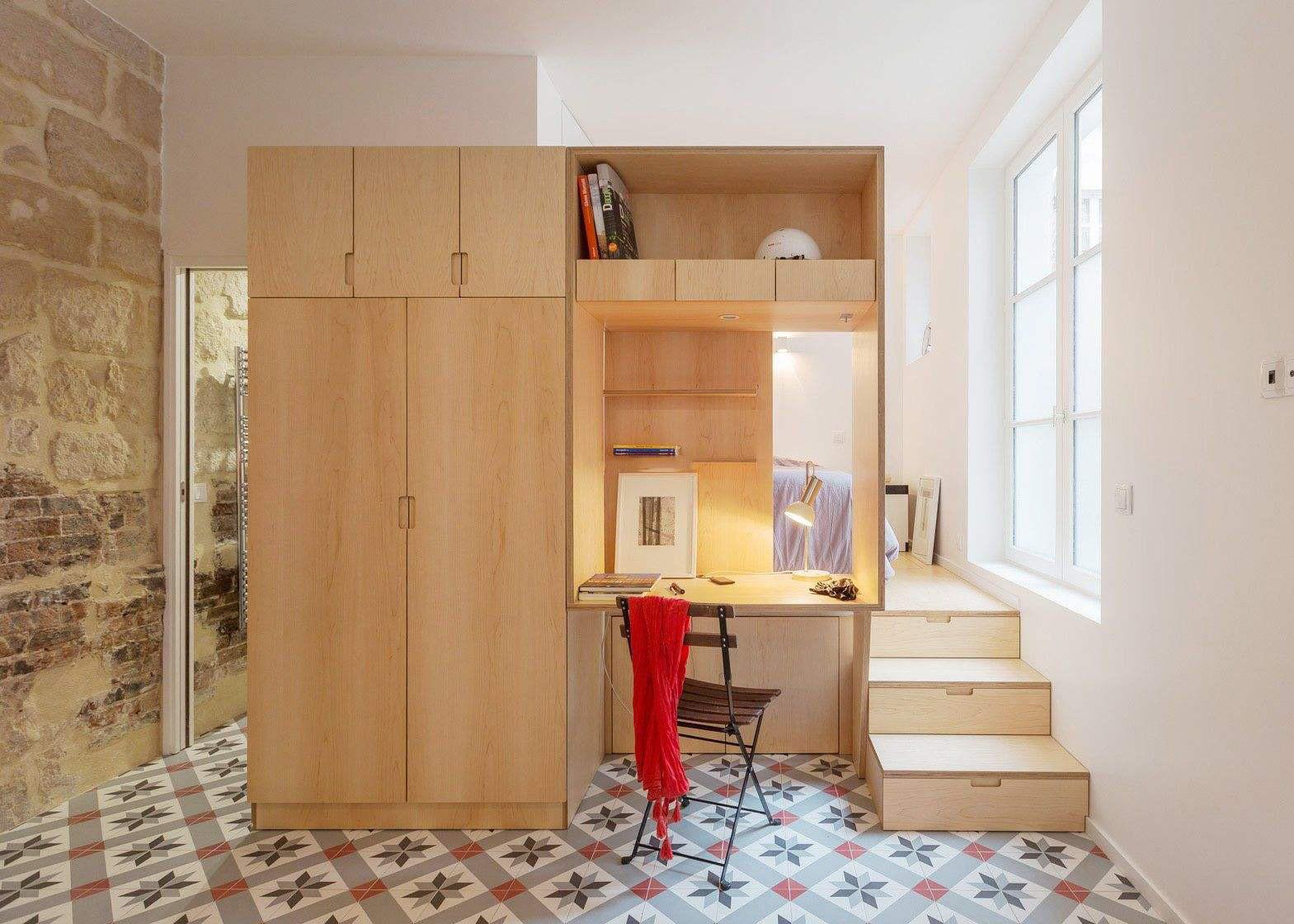 40平米小户型单身公寓装修效果图大全2019
