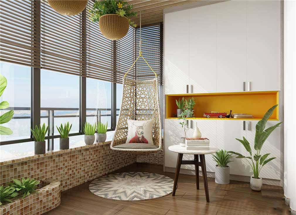 欧式别墅顶层露台装修效果图,小别墅露台装修效果图欣赏