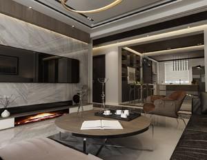 100平米两室一厅房屋足彩导航效果图,100平米房屋简单足彩导航效果图