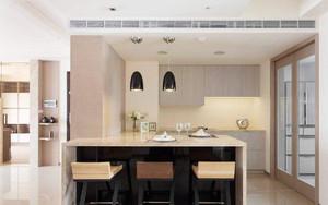 开放式厨房带吧台装修效果图欣赏,最新开放式厨房吧台装修效果图大全