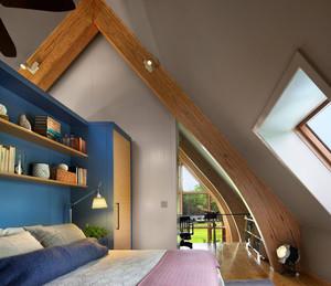 客厅斜顶阁楼装修效果图大全,平顶加斜顶的阁楼装修效果图大全