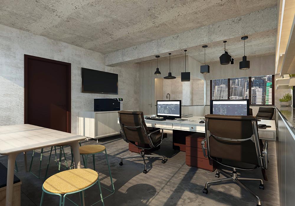 50平米小办公室装修效果图大全,小办公室装修效果图复古
