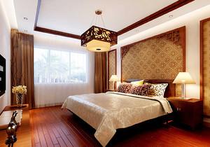 臥室中式裝修圖片效果圖,豪華中式臥室裝修圖片大全
