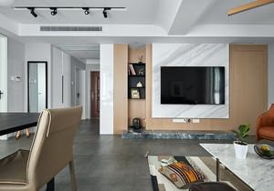 电视墙简约装修图片,客厅电视墙简约装修图片