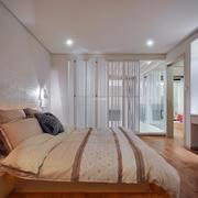 卧室简约局部一居室装修