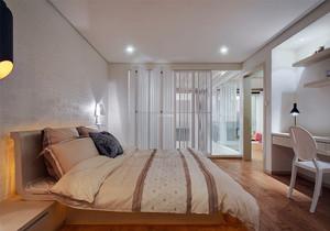 简约日式风格卧室装修效果图,110日式简约风格装修效果图