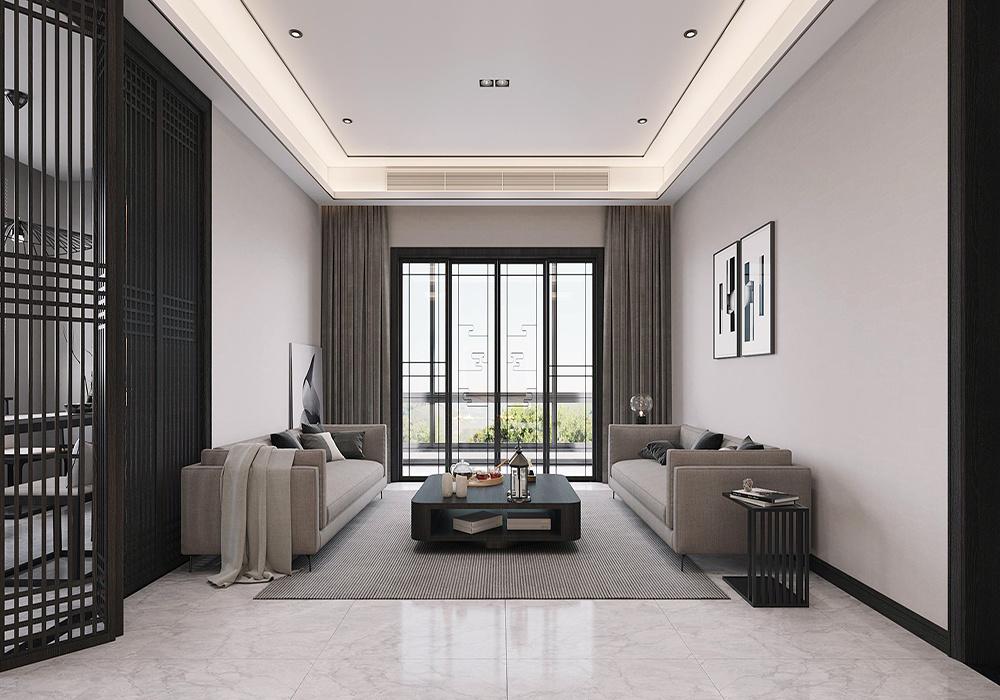 现代简约风格黑白灰装修效果图,简约风格黑白灰色装修效果图