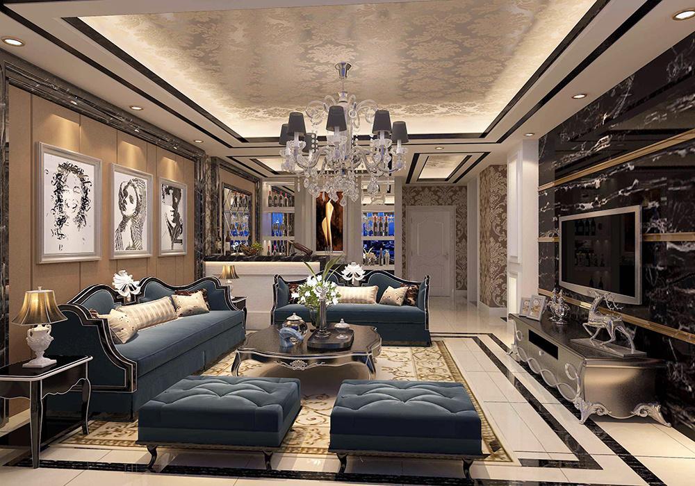 别墅装修欧式新古典装修风格,欧式新古典别墅装修风格