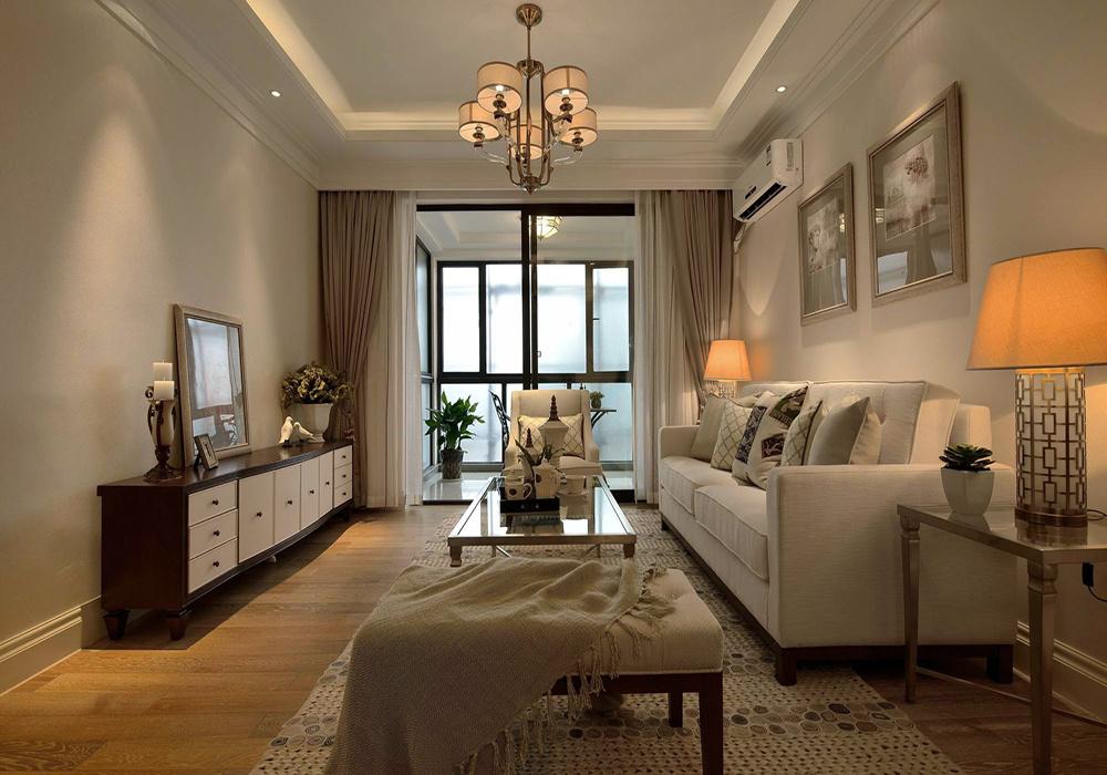 小三居室简约装修效果图大全,118平方米三居室装修效果图