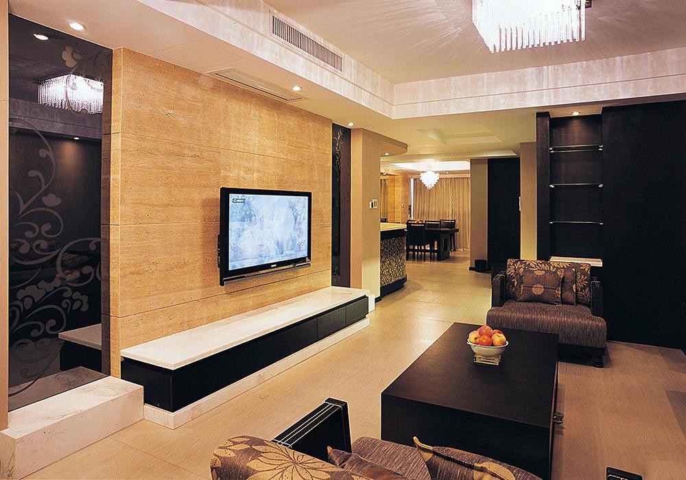 70平米小户型客厅电视墙装修图片,小户型70平米装修图片大全